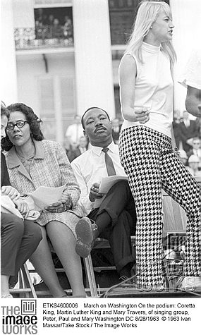 mary travers y m luther king