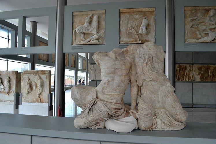 Frisos y metopas, Museo Acropolis